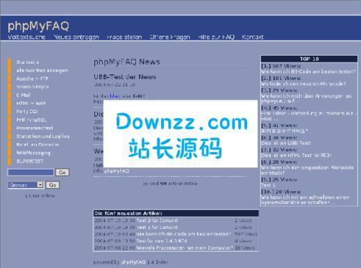 phpMyFAQv2.9.13多国语言版