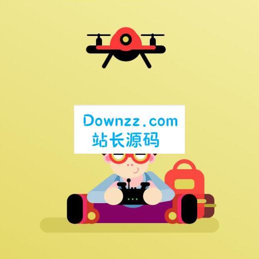 人物遥控无人机CSS3动画