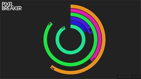 PolarClock3(多彩时钟屏保) v3.6绿色版